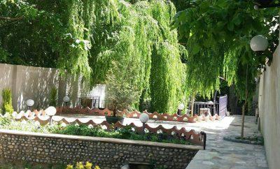 باغ بهادران زیبا در فصل بهار سال ۱۳۹۸